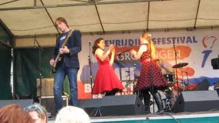 Daisy & the Jitterbugs - Going down to Tijuana - Bevrijdingsfestival 2013