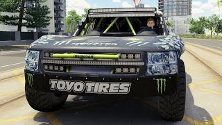 Baldwin MotorSports #97 Monster Energy Trophy Truck 2015 - Forza Horizon 3 - Test Drive Gameplay