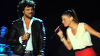 Alessandra e Renga - L'amore altrove - Brescia - 22.07.14