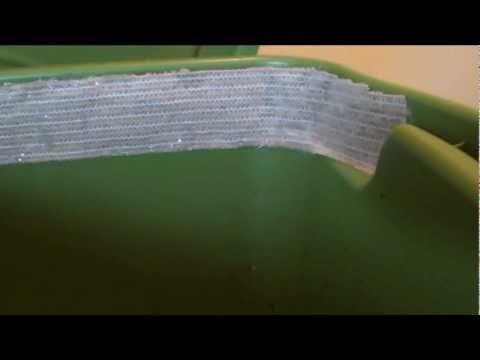 Worm bin update Januray 2011 - How to solve the worm bin gnat problem