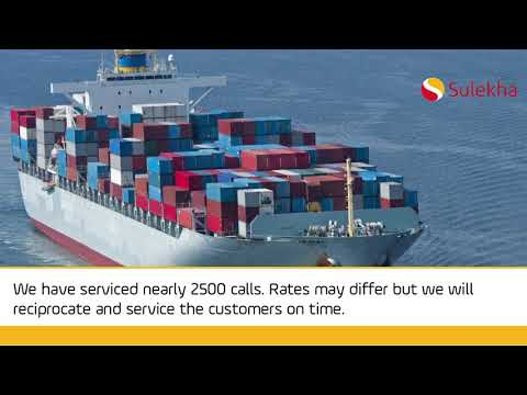 Shipping Companies in Chennai, Cargo Services in Chennai, Agents