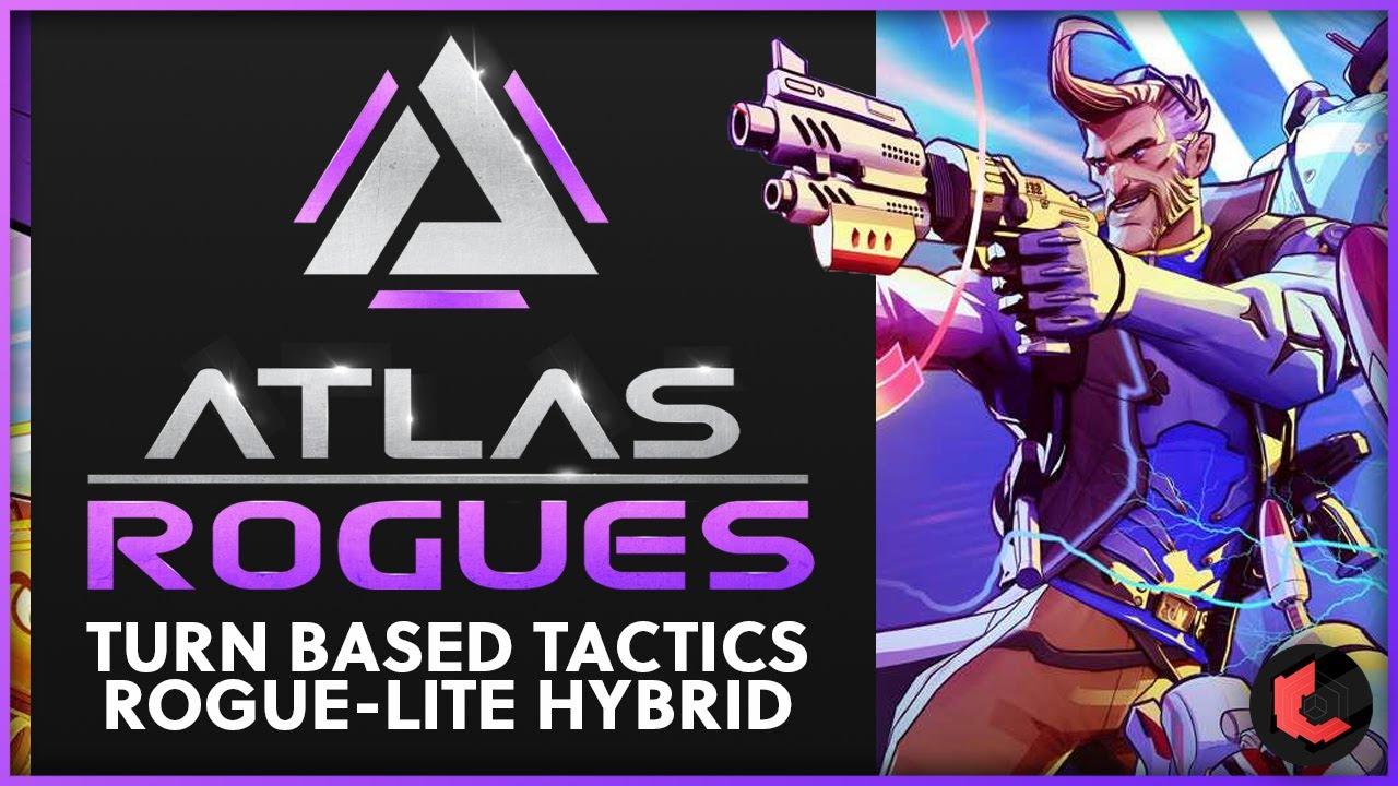 Zade - Atlas Rogues - A Unique Turn Based Tactics Rogue-Lite Hybrid! (Showcase & Impressions)
