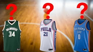 Can You Guess The NBA Players From Their Jersey Number?