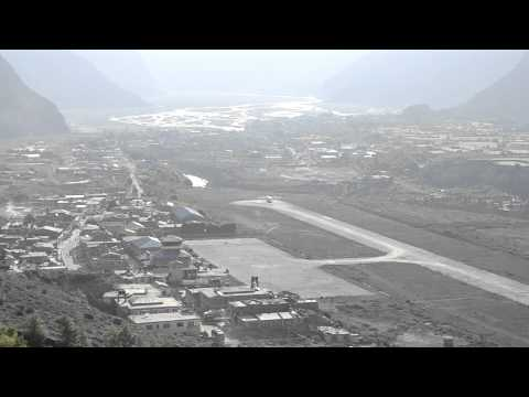 Jomsom Airport, Mustang, Nepal
