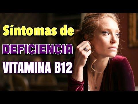 Cuáles son los SÍNTOMAS de la FALTA de VITAMINA B12