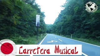 Carretera Musical Subaru Line, Fuji, Japan. Japón 2014