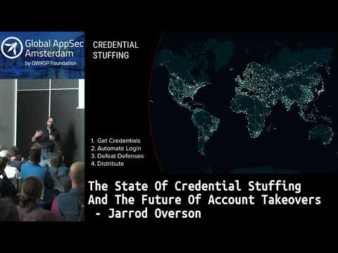 The State Of Credential Stuffing And The Future Of Account Takeovers - Jarrod Overson