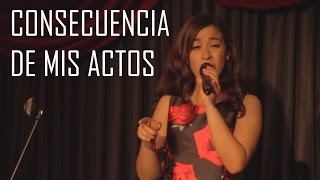 Consecuencia de Mis Actos - Banda El Recodo (cover) Natalia Aguilar