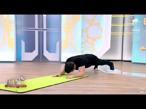 Cel mai greu antrenament care se lucrează cu propriul corp