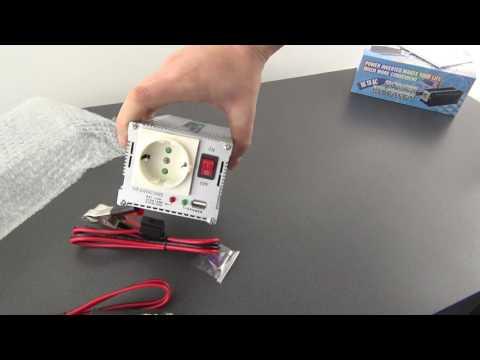 Unboxing Invertor pentru masina de la 12V-220 si 24V-220