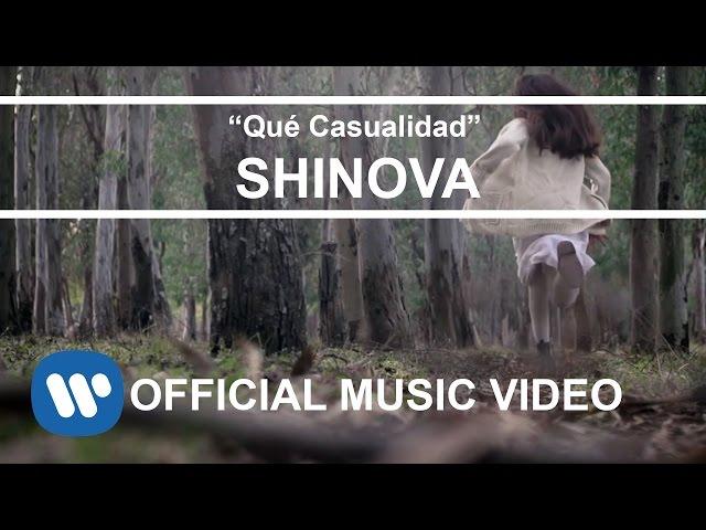 """Videoclip oficial de la canción """"Qué Casualidad"""" de Shinova."""