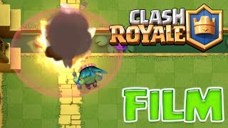 CLASH ROYALE - FILM ARENE JUNGLE / GOBELINS A SARBACANE (VOSTFR) !