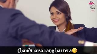Chandi jaisa rang hai tera 😀😁 whatsapp status video width=