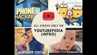 Intro Of YouTubePedia In Tamil