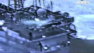 Combat Video - Stupid Somali Pirates Fire On U.S. Navy Helicopter - Bad Idea!