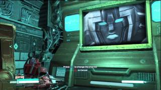 Transformers: Fall Of Cybertron - Optimus Prime finds Grimlock's Room Easter Egg