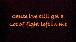 Fight Song - Rachel Platten (lyrics)