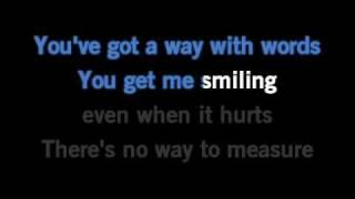 Shania Twain You've Got a Way Karaoke