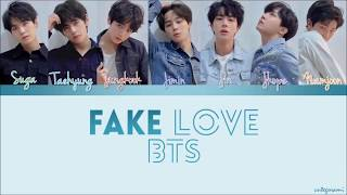 BTS (방탄소년단) - Fake Love ( Lyrics Easy)