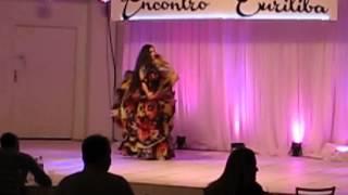 1º lugar dança cigana solo profissional VIII Encontro Curitiba  - Camila Nickel