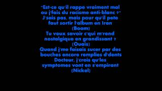 CAN I KICK IT ? - Orelsan & Gringe LYRICS