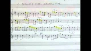 A Thousand Years 'Chistina Perri' Partitura sax Soprano