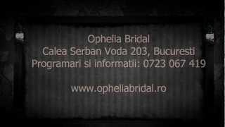 Rochii de mireasa Ophelia Bridal 2012.wmv