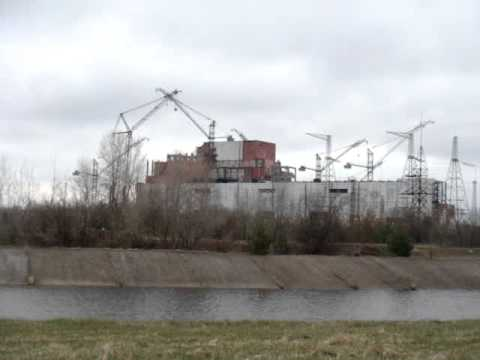 Getting close to Chernobyl Nuclear Power Plant