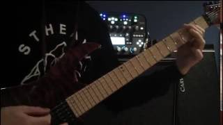 Black Veil Brides - Rebel Love Song (Guitar Cover)