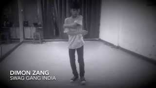 Get Lucky by Daft Punk | Dimon Zang | Freestyle Dance Video | SWAG GANG Crew