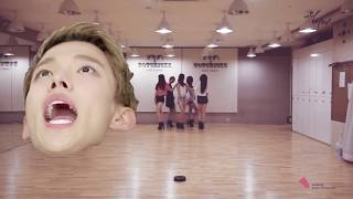 proof that mansae by seventeen perfectly works on up & down by exid