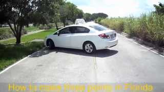 How to do a Three Point Turn | DMV ROAD TEST\ driving test\ drive\ driving test tips car driving