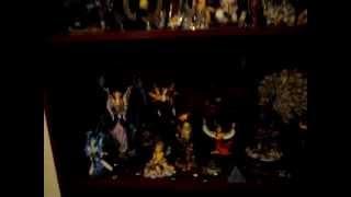 Coleção de miniaturas (fadas, anjos, deuses, animais, guerreiros)