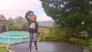 Hip hop/ acro trampoline dance💖