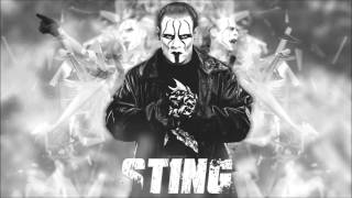 2016: Sting 2nd & New Custom WWE Theme Song - Burning In Dystopia