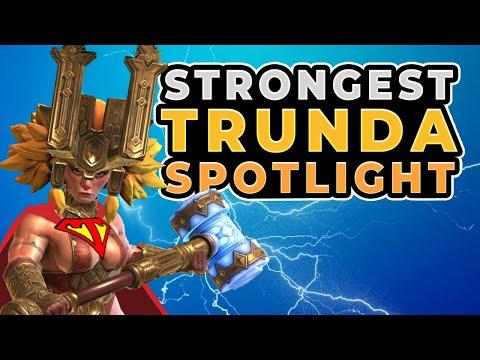 STRONGEST TRUNDA build Raid Shadow Legends Battle Strategies