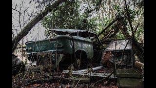 Abandoned Hoarders Classic Car Graveyard - NSU Prinz Beetle Secret Car Collection (Barn Find) Patina