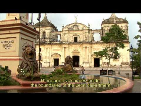 Departamentos y rutas: Leon