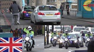 [LONDON] Tower Bridge - SEG VIP Convoy - 2x unmarked BMW´s