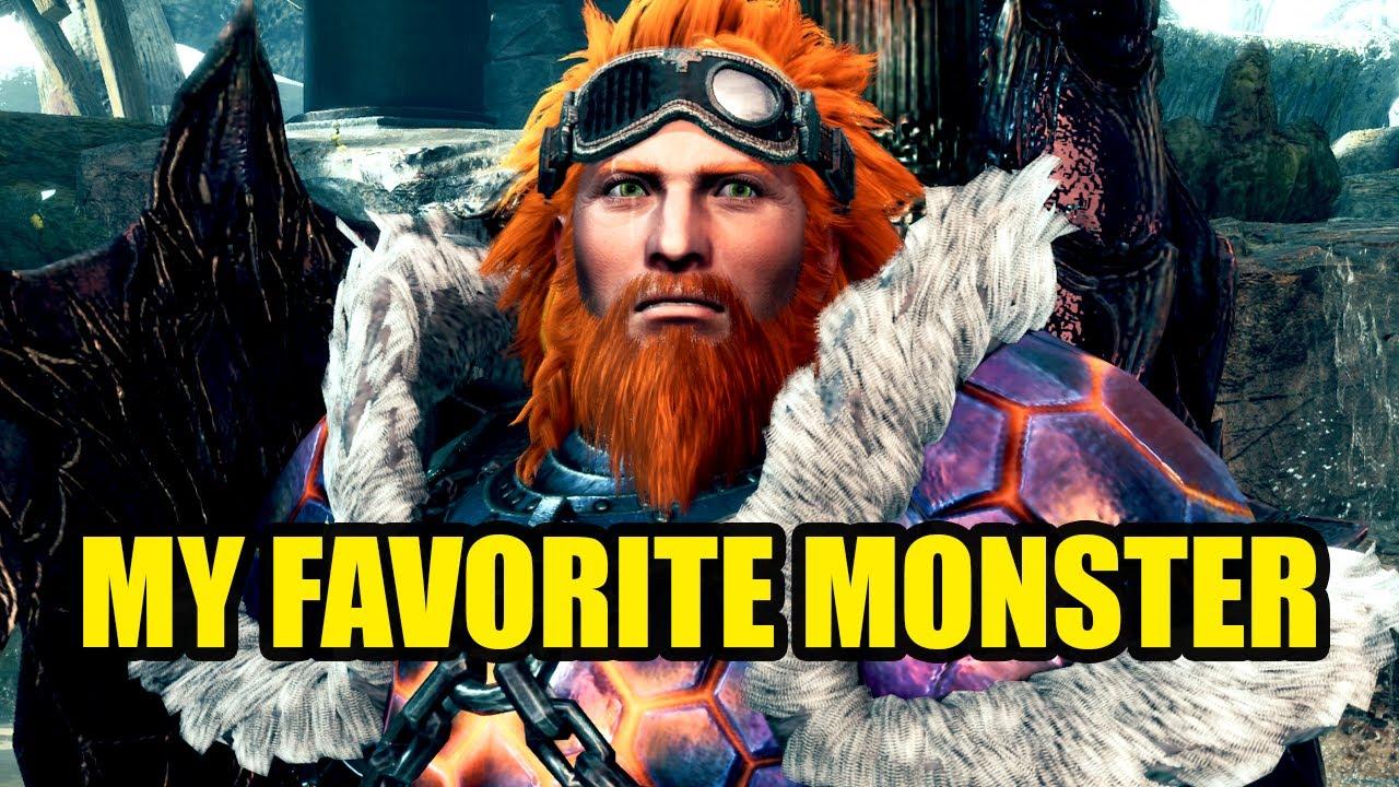 Rurikhan - My Favorite Monster in Monster Hunter World Iceborne