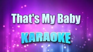 White, Lari - That's My Baby (Karaoke version with Lyrics)