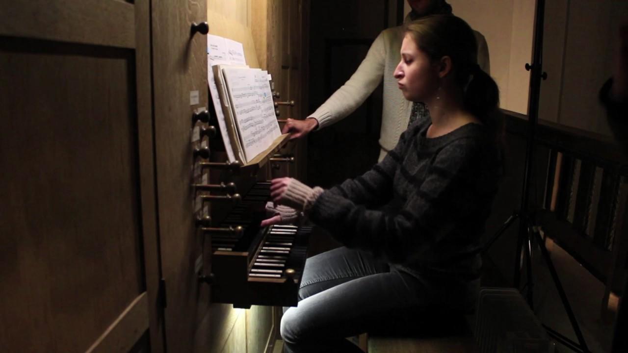 """Johann Sebastian BACH, """"Christ lag in Todesbanden"""" BWV 718"""