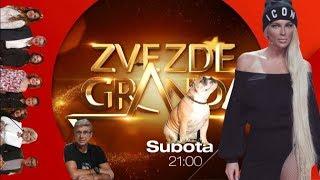 JELENA KARLEUSA // najava: Zvezde Granda / 16.12.17