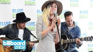 Miley Cyrus Performs Acoustic Version of 'Malibu,' Reveals Meaning Behind Single | Billboard News
