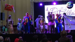 Acuarela en el carnaval infantil 2017 de San Fernando de Henares