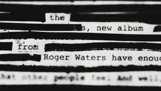 "The new album from Roger Waters ""Is This The Life We Really Want?"" coming soon"
