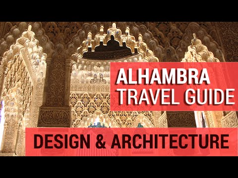 Alhambra : Design & Architecture Detailed Guide ( Granada, Spain - Tour) - YouTube