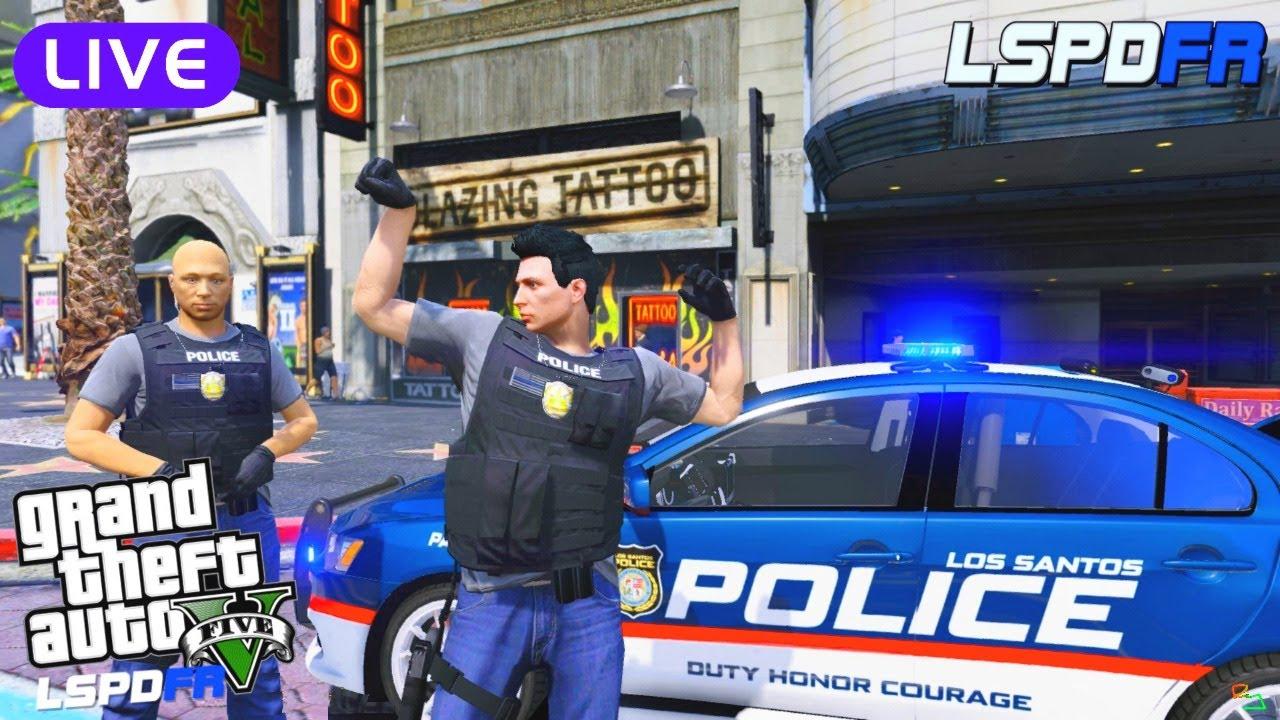 Ry Wilson - LIVE: GTA 5 LSPDFR Police Mod: Night Shift in the City (2010 Mitsubishi Evo X)