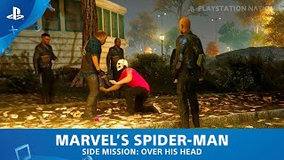 Marvel's Spider-Man (PS4) - Side Mission - Over His Head