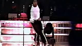 Michael Jackson BTour Billie Jean 1988 Moonwalks